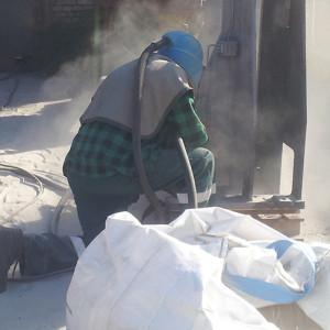 Piaskowanie konstrukcji  Oferujemy piaskowanie konstrukcji stalowych.